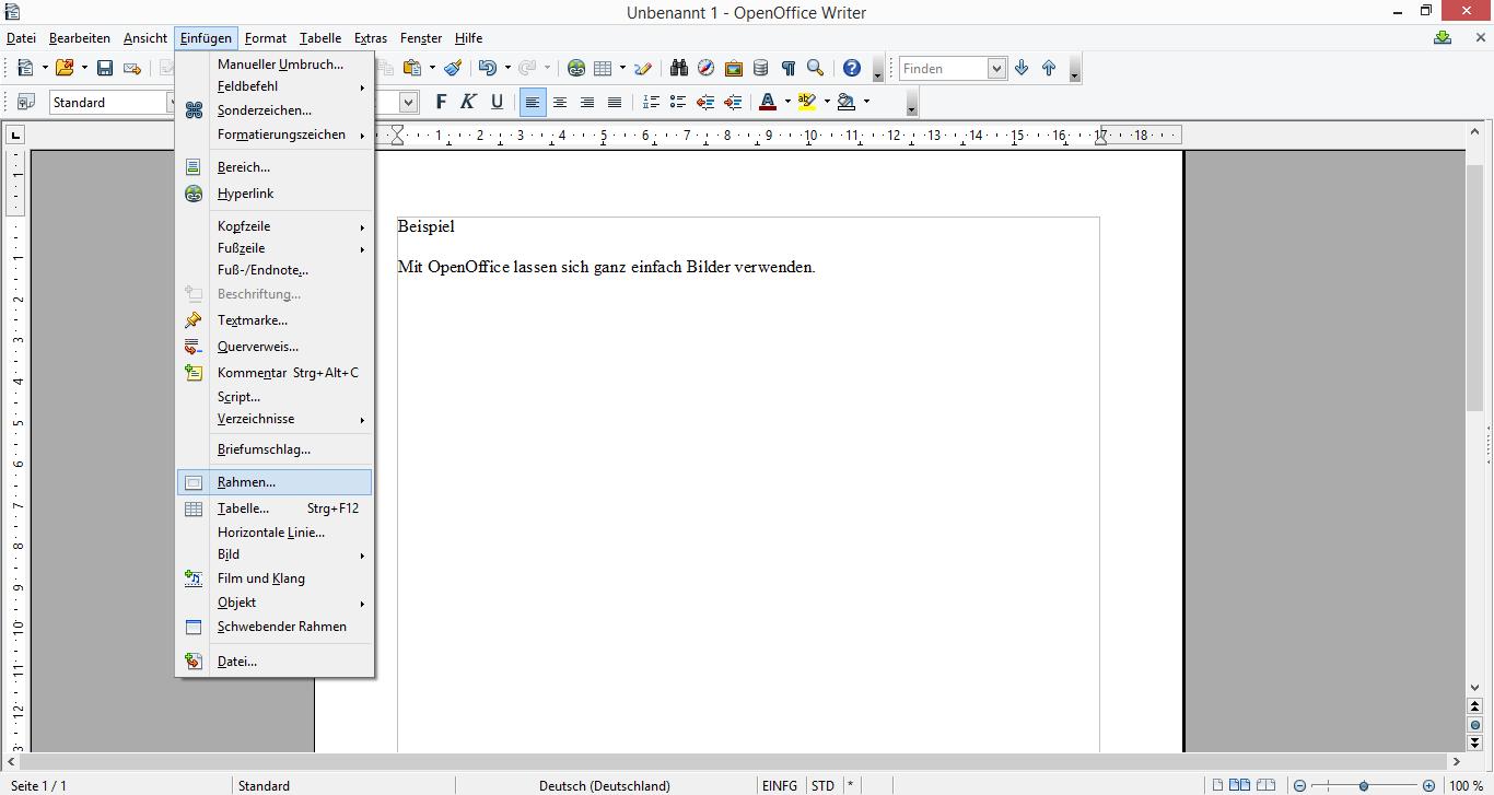 Buchdruck-Blog: Fotos in Open Office oder LibreOffice verwenden ...
